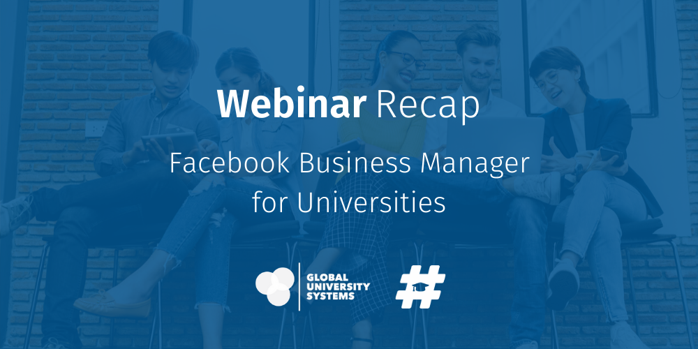 Facebook Business Manager for Universities
