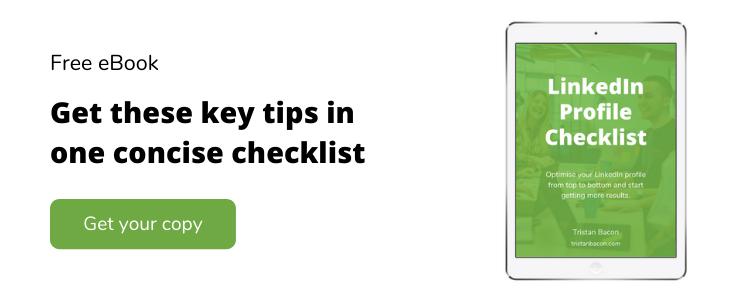 LinkedIn Profile Tips Ebook
